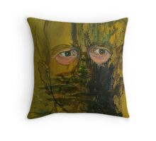 The eyes don't lie Throw Pillow