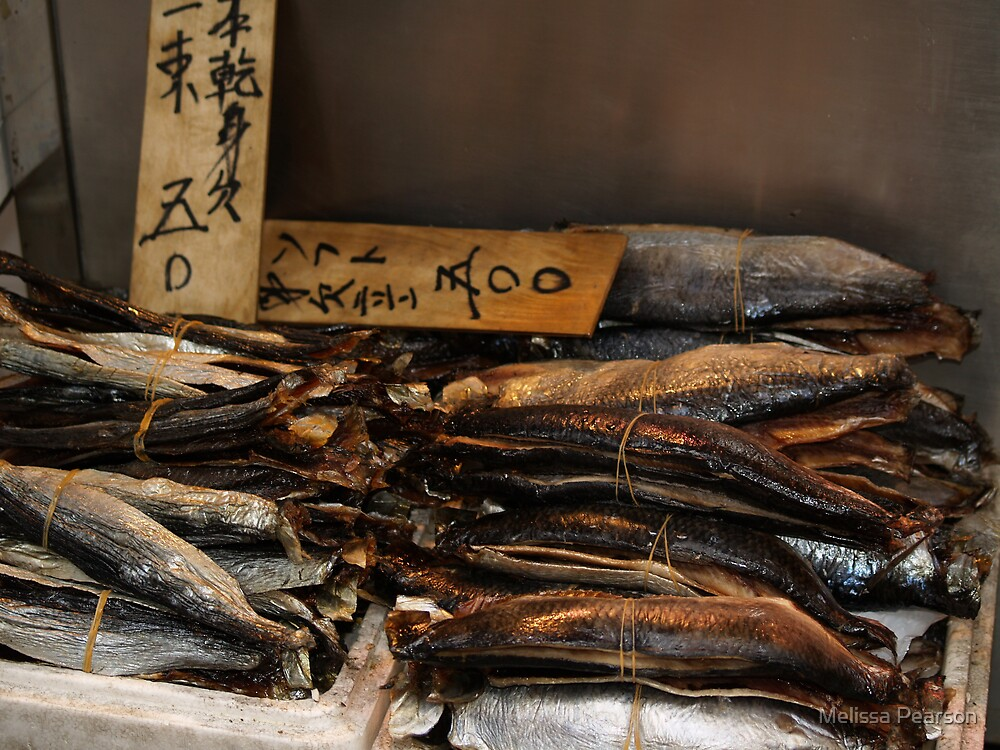 Tsukiji Fish Markets, Tokyo by Melissa Pearson
