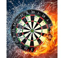 iPHONE DARTS FIRE & ICE by buniquedesignz