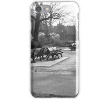 Cold bench iPhone Case/Skin