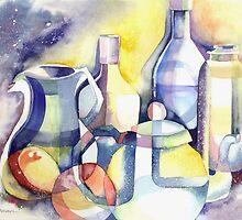 Cosmic Bottles by Ujean1974