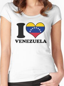 I Heart Venezuela Women's Fitted Scoop T-Shirt
