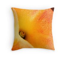 Juicy Peach Throw Pillow
