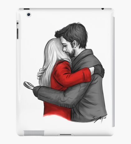 Here For You iPad Case/Skin