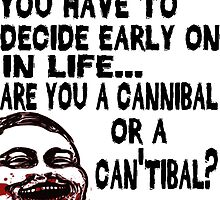 Are You a Cannibal - humor by tommytidalwave