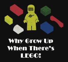 Why Grow Up When There's Lego! by GiggleSnorts