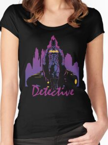 Detective Women's Fitted Scoop T-Shirt