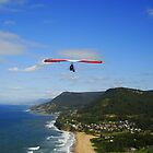 Hang gliding, Stanwell Park, Australia by Of Land & Ocean - Samantha Goode