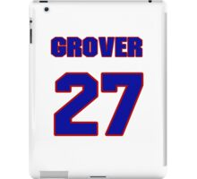 National baseball player Grover Hartley jersey 27 iPad Case/Skin