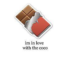 '' im in love with the coco '' Emoji Design by Emoji Mania