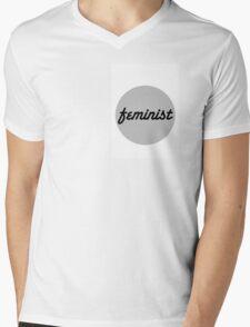 FEMINIST Mens V-Neck T-Shirt