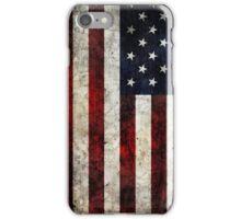 iPHONE USA FLAG 4 iPhone Case/Skin