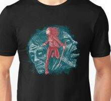 Katana girl & Zombies Unisex T-Shirt