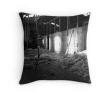 In the Shearing Shed Throw Pillow