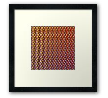 Abstract / Psychedelic / Geometric Artwork Framed Print