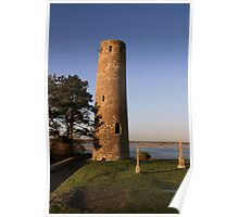 Clonmacnoise round tower Poster