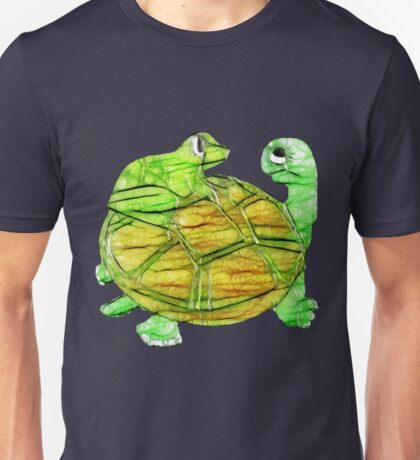 Turtle and Frog Unisex T-Shirt