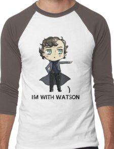 """I'm With Watson"" Men's Baseball ¾ T-Shirt"