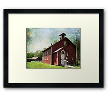 Historic place Framed Print