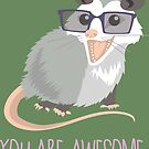 Awesome Possum by Veronica Guzzardi