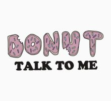 Donut Talk To Me Kids Clothes