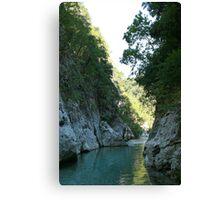 The Acheron Gorge Canvas Print