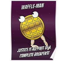 Waffle-Man Poster