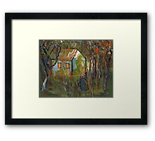 The woodcutters wife Framed Print