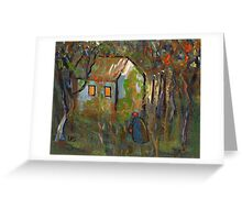 The woodcutters wife Greeting Card