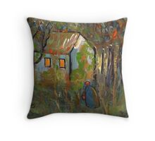 The woodcutters wife Throw Pillow