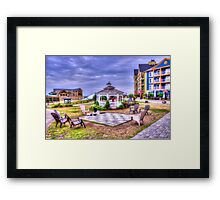 Gazebo at Blue Mountain  Framed Print