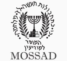 Mossad Logo -  Israeli Secret Intelligence Service by VeteranGraphics