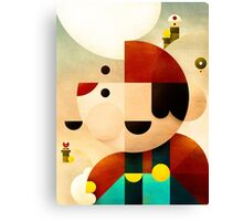 Lost in Marioland Canvas Print