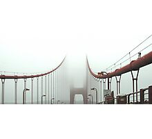 Golden Gate to heaven Photographic Print