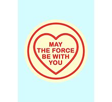 Geeky Love Hearts - Force Photographic Print