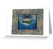 Chrysoprase - Safe Sea Journey Greeting Card
