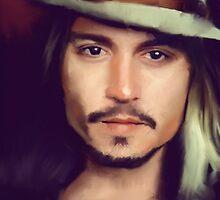 Johnny Depp by howkoon