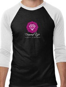 Diamond Life: Clarity ∞ Balance (warrior spirit)  Men's Baseball ¾ T-Shirt