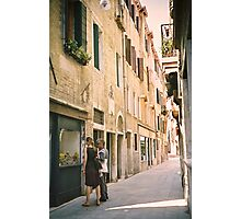 Window Shopping in Venice, Italy Photographic Print