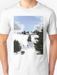 Winter landscape (IV) Unisex T-Shirt