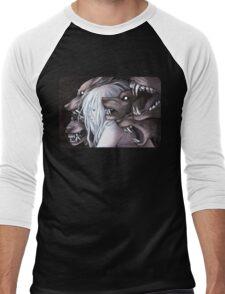 Stray Witch Men's Baseball ¾ T-Shirt