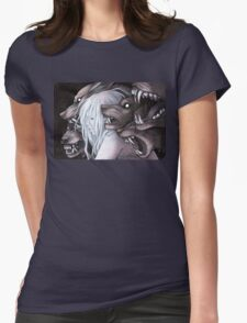 Stray Witch Womens Fitted T-Shirt