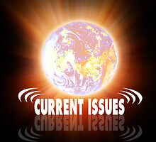 "Logo Of ""CURRENT ISSUES"" group by Rabi Khan"