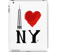 I Love NY Freedom by Tai's Tees iPad Case/Skin