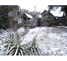 'Waldheim in Snow' Photographic Print