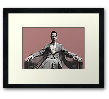 BBC SHERLOCK: Moriarty Framed Print