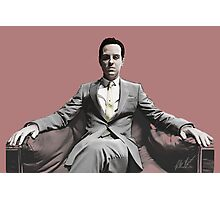 BBC SHERLOCK: Moriarty Photographic Print
