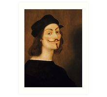 Anonymous Self-Portrait - Raffaello Sanzio da Urbino, 1506 Art Print