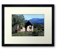 Dilapidated House South Africa Framed Print