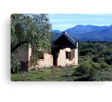 Dilapidated House South Africa Canvas Print
